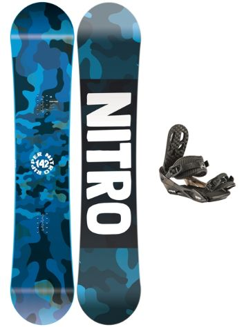 Nitro Ripper 142 2020 + Charger 2020 Snowboardpaket