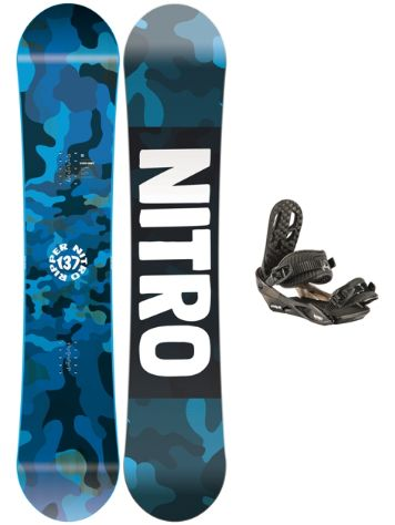 Nitro Ripper 137 2020 + Charger 2020 Snowboard Set