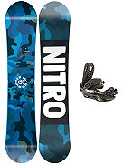Ripper 137 2020 + Charger 2020 Snowboard Set