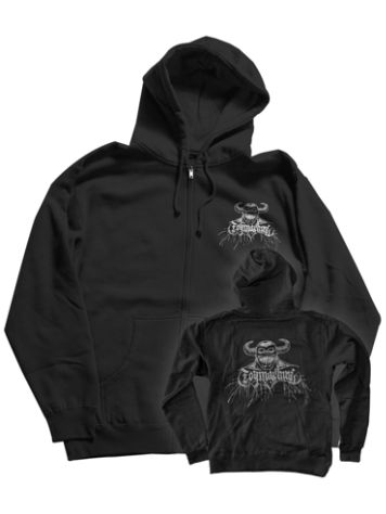 Toy Machine Metal Hell Zip Hoodie