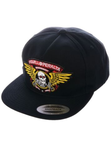 Powell Peralta Winged Ripper Patch Snapback Cap