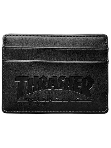 Thrasher Card Leather Wallet