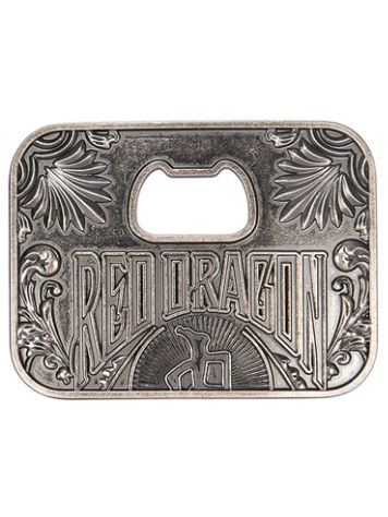Red Dragon Bottle Opener Belt Buckle