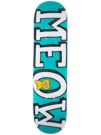 "Meow Skateboards Logo 8.5"" Skateboard Deck"