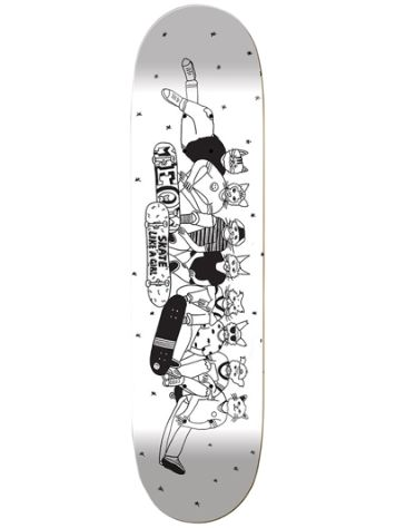 "Meow Skateboards Skate Like A Girl 8.0"" Skateboard Deck"