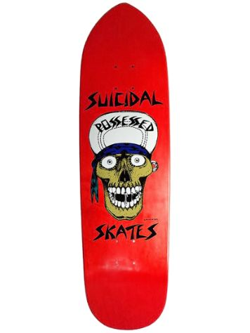 "Dogtown Suicidal Punk Point Skull 8.75"" Deck"