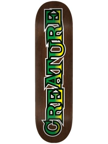 "Creature Long Logo Hard Rock Maple 8.25"" Deck"