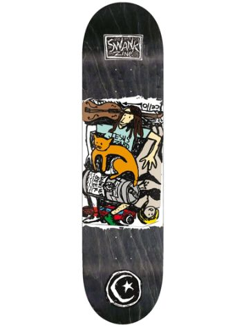 "Foundation Jesus Lizard 8.0"" Skateboard Deck"