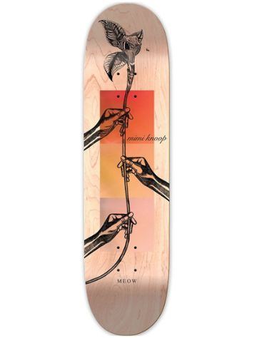 "Meow Skateboards M Knoop Guest Pro 8.25"" Skateboard Deck"