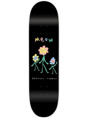 Meow Skateboards Torres Flower Party 8.25 Skateboard Deck