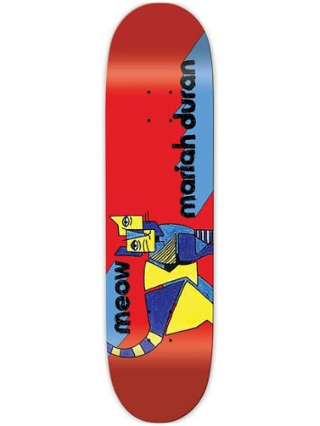 "Meow Skateboards Duran Kip 7.75"" Skateboard Deck"