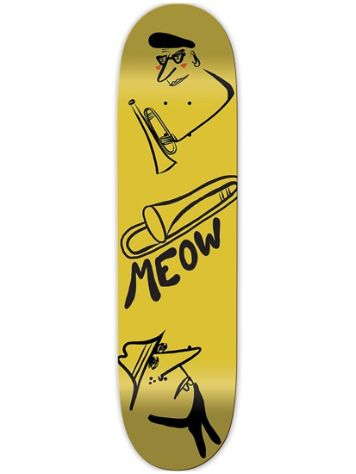 "Meow Skateboards Jazz 8.25"" Skateboard Deck"