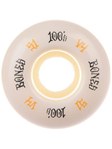 Bones Wheels 100's OG 17 V4 100A 51mm Rollen