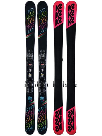 K2 Dreamweaver 4.5 FDT 129 2020 Freeski-Set