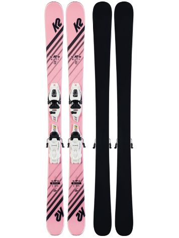 K2 Missy 7.0 FDT 139 2020 Freeski-Set