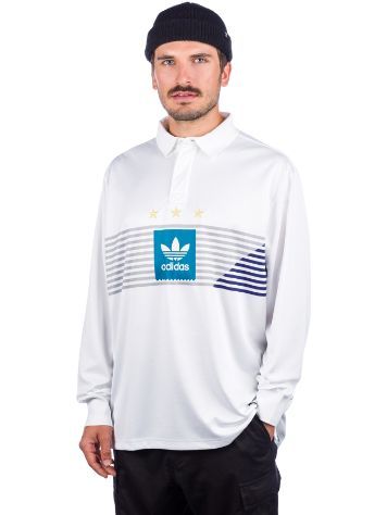 adidas Skateboarding Elevated Rugby Longsleeve T-Shirt