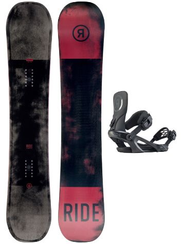 Ride Agenda 161W + KX XL 2020 Snowboard Set