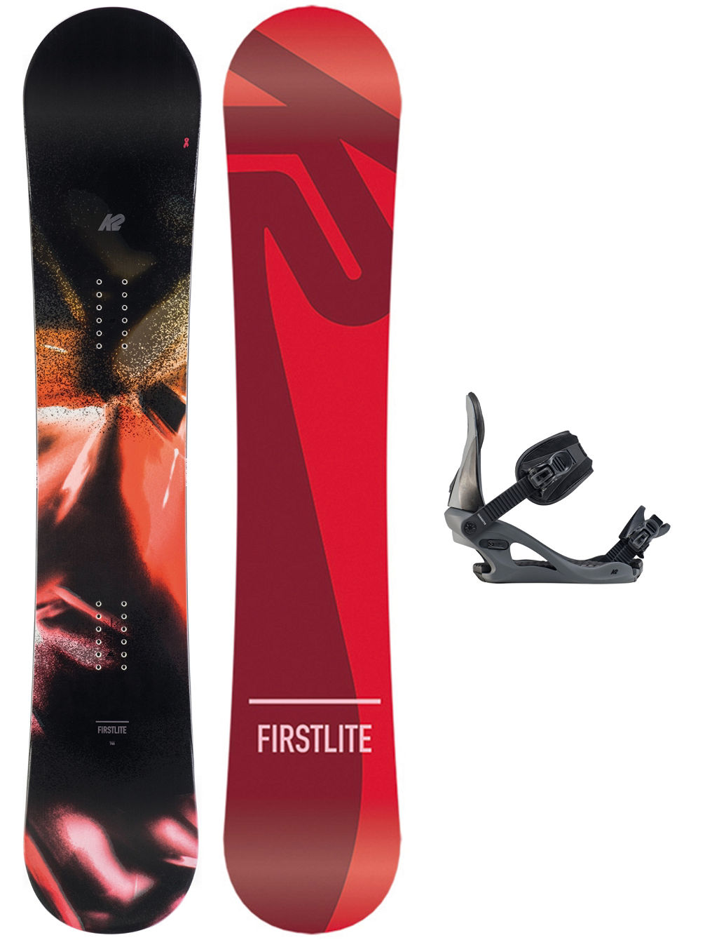 First Lite 142 + Casette M 2020 Snowboard Set