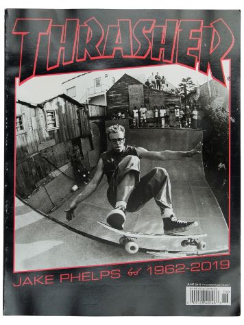 Thrasher Issues June 2019 Magazin