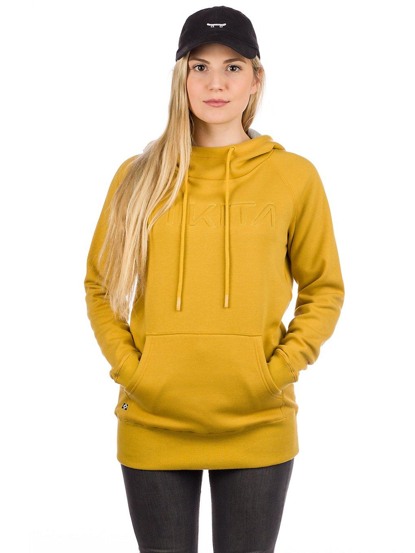 Nikita reykjavik classic hoodie keltainen, nikita