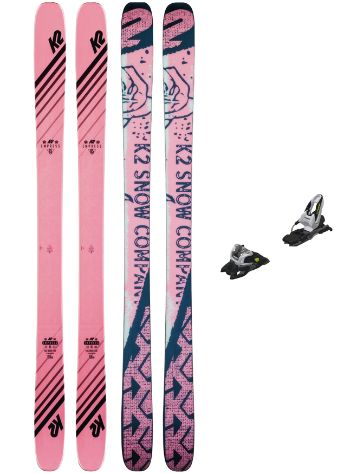 K2 Empress 159 + Free Ten 90mm 2020 Freeski-Set