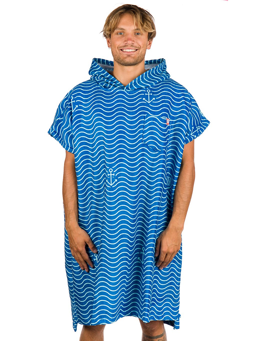 After Waves Surf Poncho marine