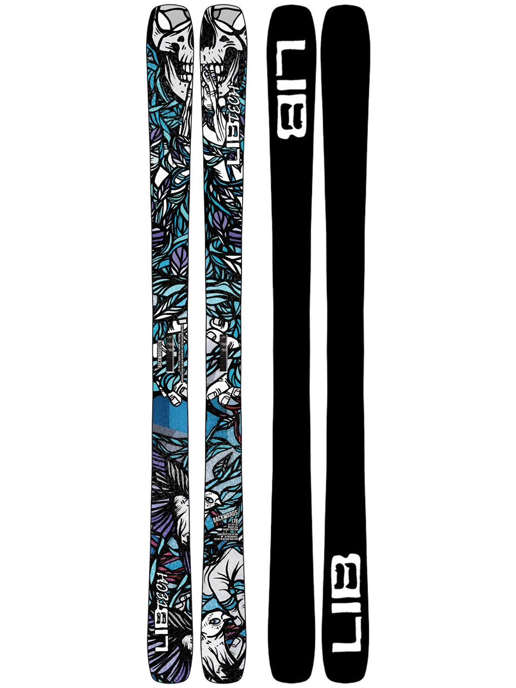 Backwards 166 2020 Skis