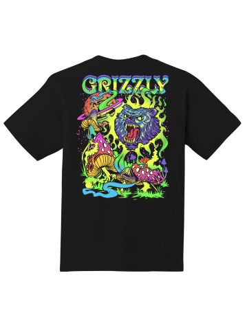 Grizzly Blacklight Bear T-Shirt