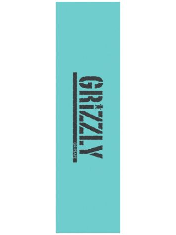 Grizzly Reverse Stamp Tiffany Grip Tape