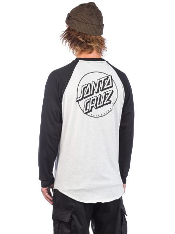 Santa Cruz Opus Dot Baseball Long Sleeve T-Shirt