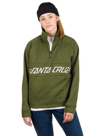 Santa Cruz Pinline 1/4 Zip Crew Sweat