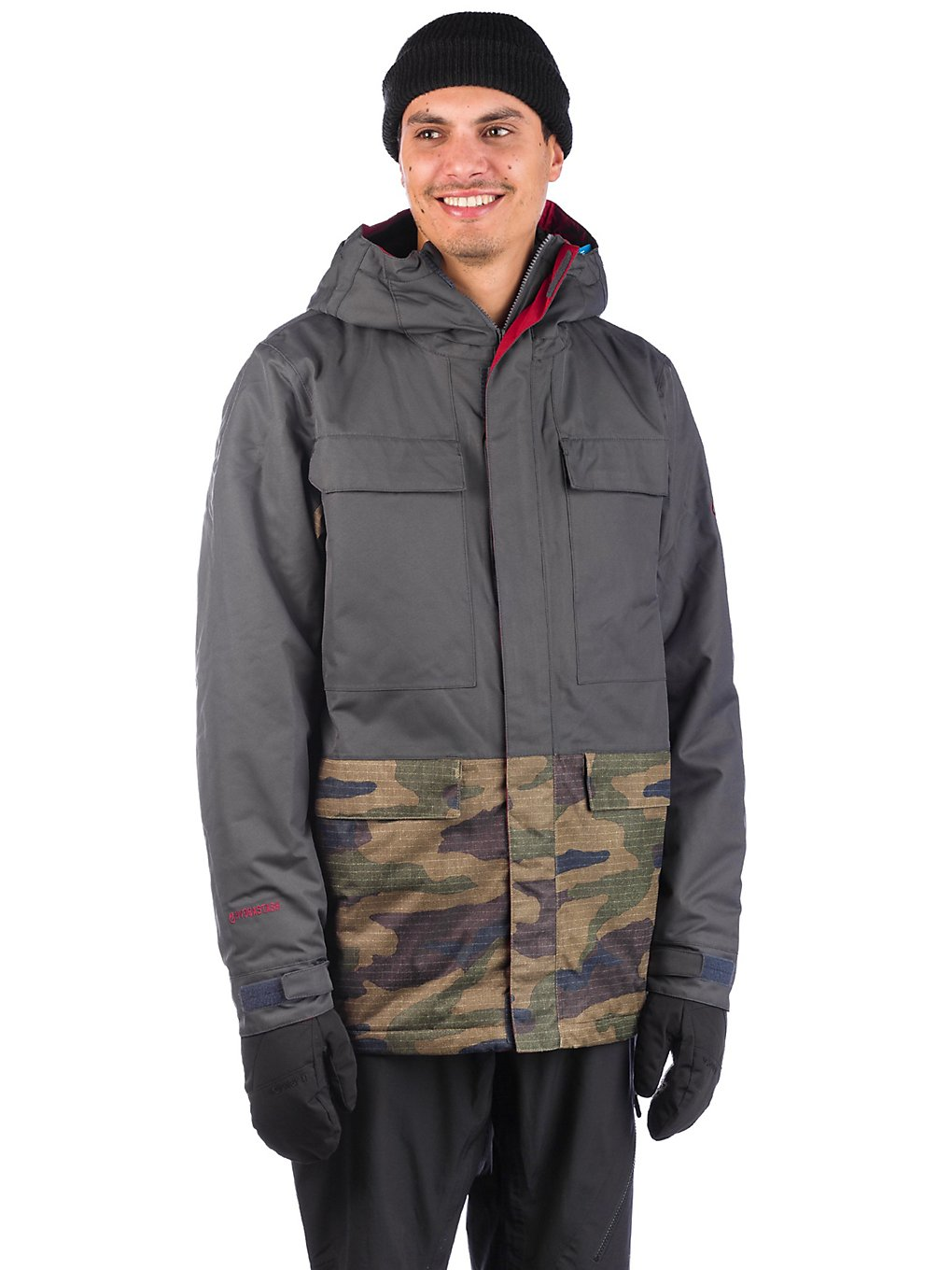 686 Hydrastash Canteen Insulator Jacket dark camo colorblock