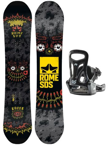 Rome Label 140 + Minishred S 2020 Conjunto Snowboard