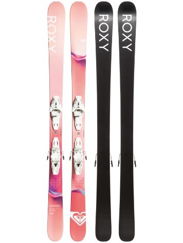 Roxy Shima 85 160 + Lithium 10 GW 2020 Freeski-Set