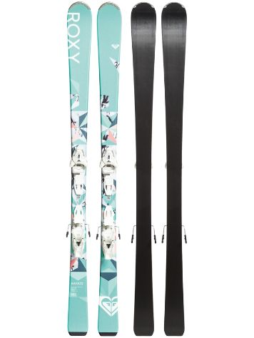 Roxy Kaya 72 160 + Lithium 10 GW 2020 Freeski-Set