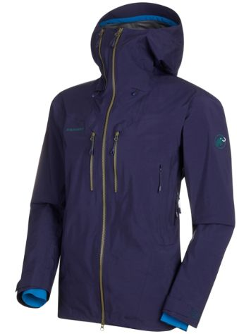 Mammut Alvier Hs Hooded Giacca