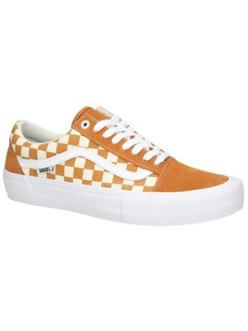 Vans Old Skool Pro Checkerboard Skate Shoes