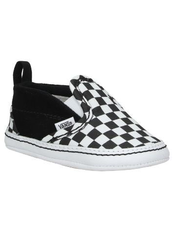 Vans V Crib Checkerboard Slip-Ons