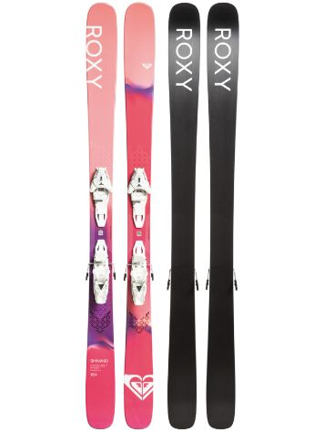 Roxy Shima 90 158 + Lithium 10 GW 2020 Set de Freeski