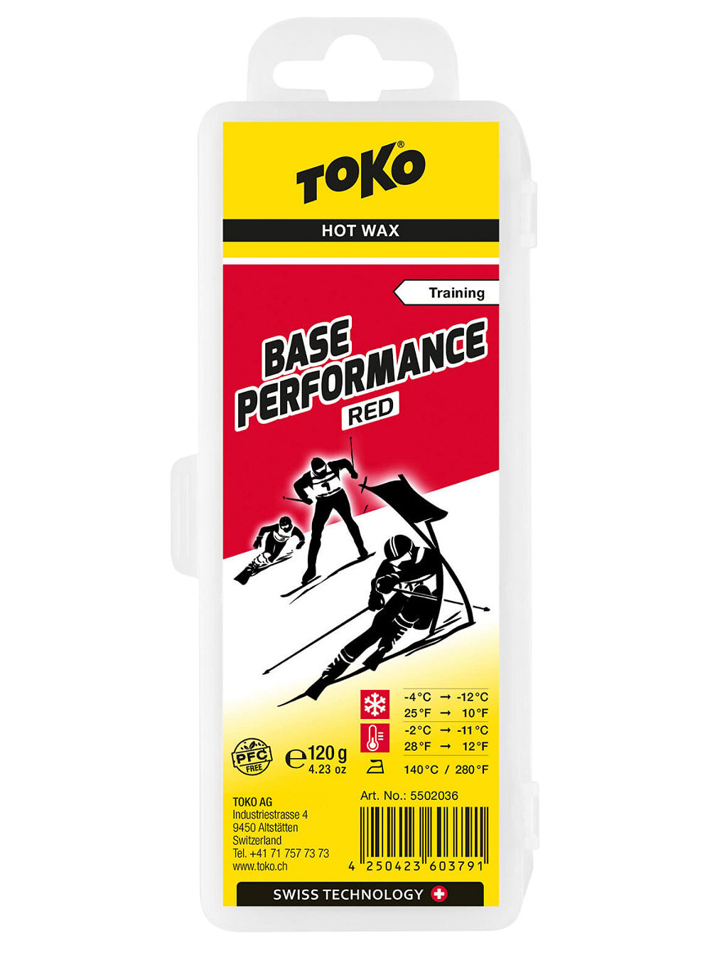 Base Performance 120g Red -4°C / -12°Vosk