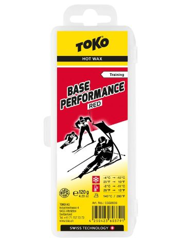 Toko Base Performance 120g Red -4°C / -12°Wax