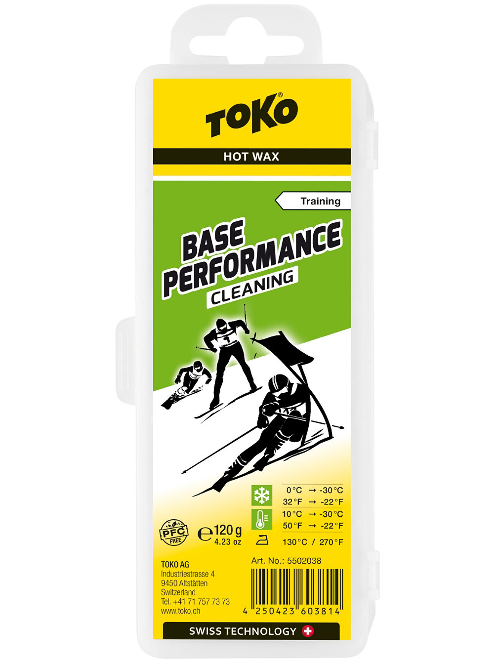 Base Performance cleaning 120g Vosk