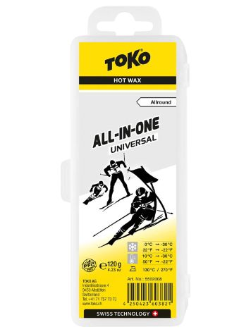 Toko All-in-one uni 0°C /-30°C 120g Wachs