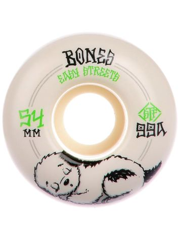 Bones Wheels Stf Rest Easy 99A Fatties 54mm Wheels