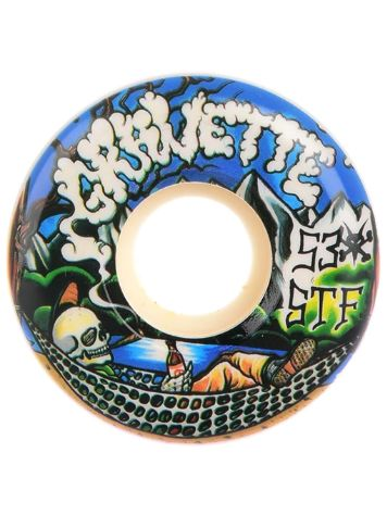 Bones Wheels STF Gravette Outdoors 83B V2 53mm Wheels