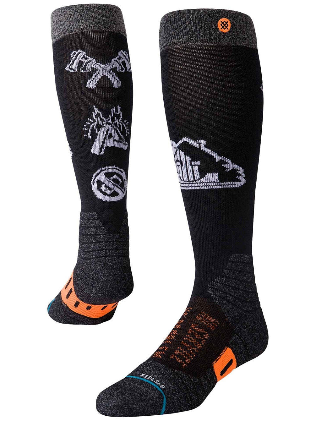 Freedom Frontier Chaussettes Techniques
