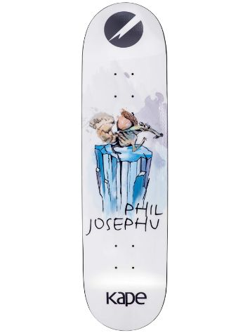 "Kape Skateboards Josephu Carboslick 8.0"" The Squirrel Skate D"