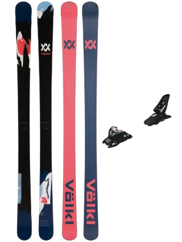 Völkl Bash 86 180 + Squire 11 ID 90 Black 2020 Conjunto Freeski