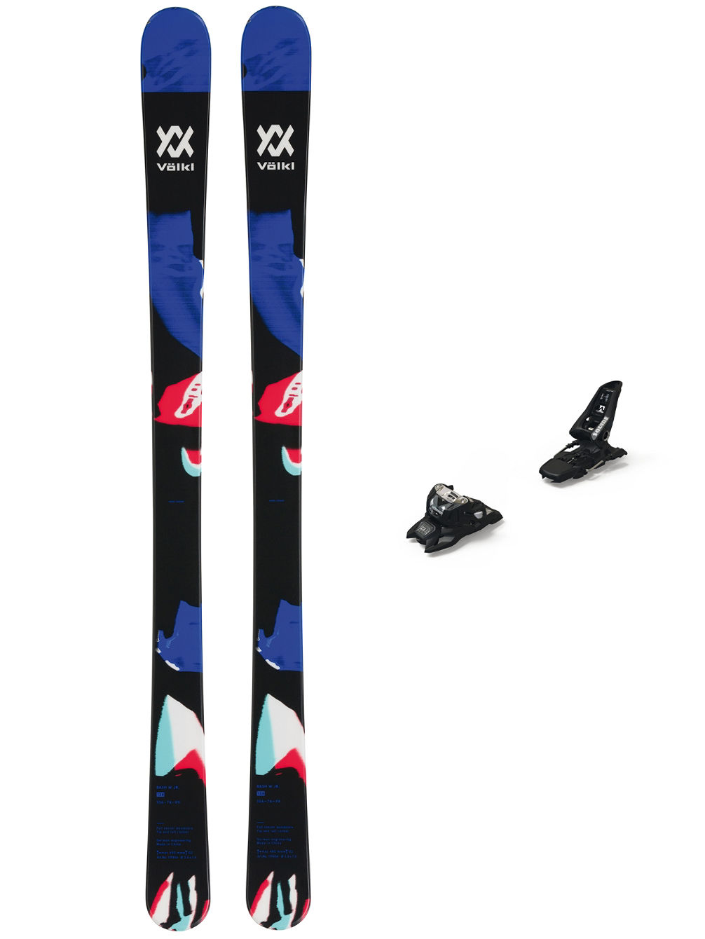 Bash 86 156 + Squire 11 ID 90 Black 2020 Conjunto Freeski