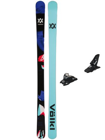 Völkl Bash 86 164 + Squire 11 ID 90 Black 2020 Freeski-Set